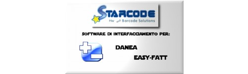 SOFTWARE STARCODE DI INTERFACCIAMENTO DATI DANEA EASY-FATT