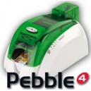 PBL401OCH-B - Stampante di Card Evolis Pebble4 Essential Mag- Codifica magnetica, USB/Ethernet